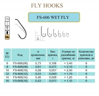 FS-606 WET FLY